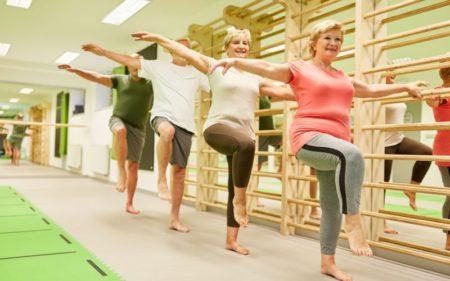 Group Exercise - Balance And Flexibility