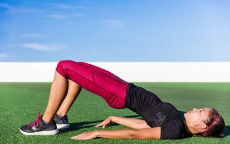 Core Workout At Home - Bridge Workout