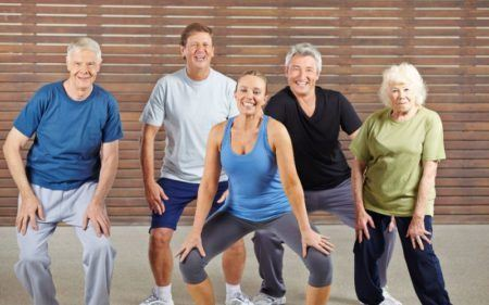 Group Exercise - Group Dancing Exercises