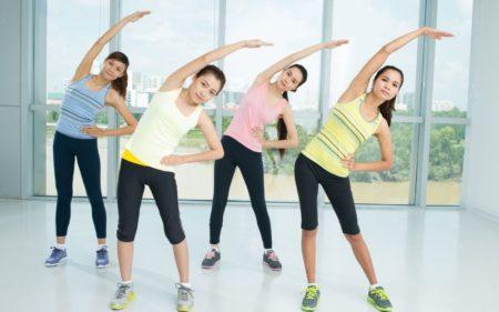 Ice Cream Fitness - Proper warm-up session