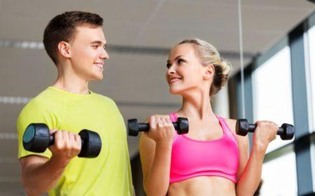 Shoulder Exercises For Women - Standing dumbbell exercise
