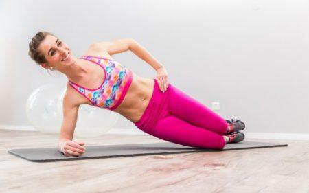 Clamshell Exercise - Start clamshell exercise