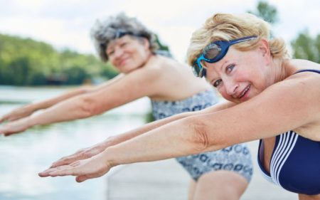 Aerobics For Seniors - Swimming Workout for Seniors
