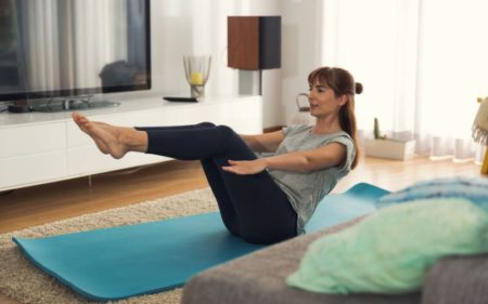 Core Workout At Home - V-Sit Pose Workout