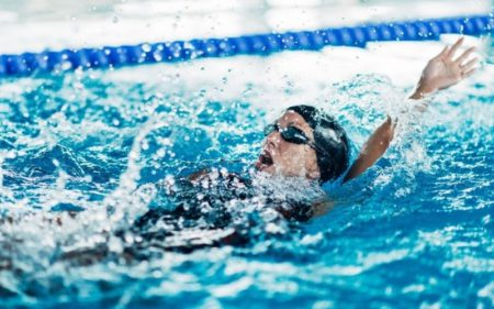 Swimming Workouts - backstroke swim