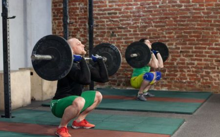 CrossFit For Beginners - barbell squat
