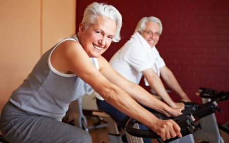 Group Exercise Classes - Stationery Bike Riding