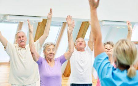 Group Exercise Classes - group exercise more fun