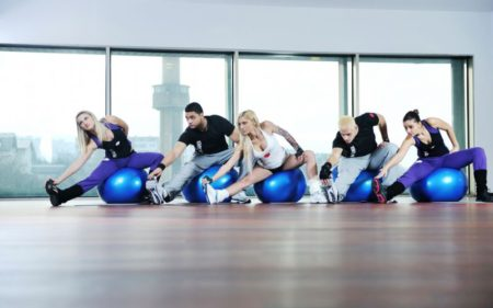 Group Fitness Classes - group fitness structured