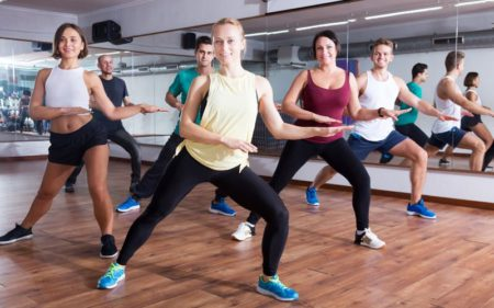 Group Fitness Classes - group fitness with zumba