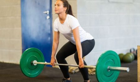 Upper Body Workouts For Beginners - Barbell Bend Over row