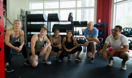 CrossFit Transformation - Crossfit class
