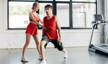 Kettlebell Leg Workout - Kettlebell Lunge