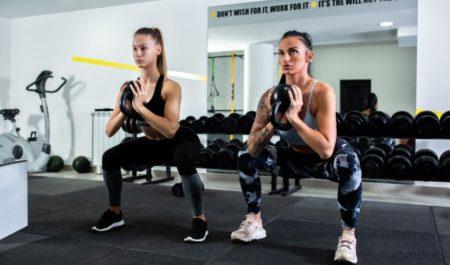Kettlebell Leg Workout - Kettlebell Squats