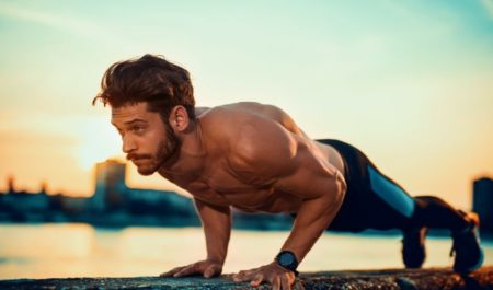 Upper Body Workouts For Beginners - Push Up Workout