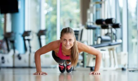 How To Get Rid Of Armpit Fat - Push Up workout