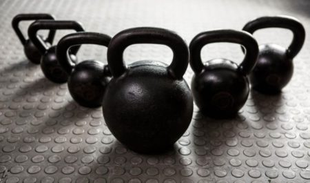 Rogue Kettlebell - Several sizes of kettlebells