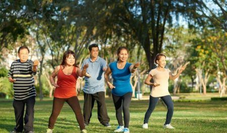 Best Exercise For Overweight Female - Tai Chi Ring a Bell