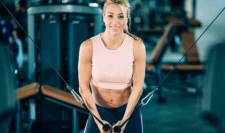 Cable Pull Through - cable workout