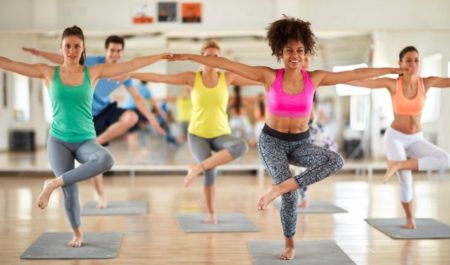 Aqua Zumba - improve body balance