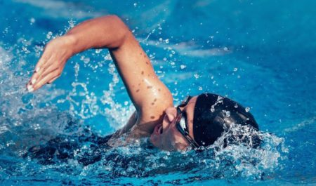 Indoor Swimming Pool - swimming daily workout