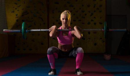 CrossFit thruster - Barbell Thruster