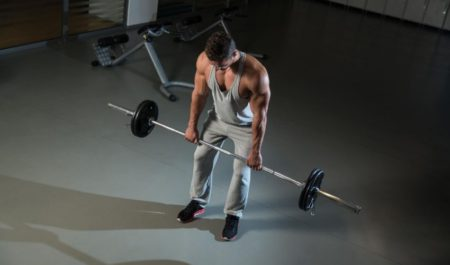 Deltoid Workout - Barbell Upright Row