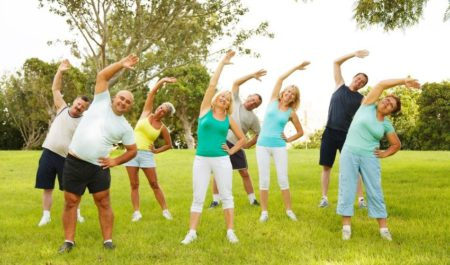 Geriatric Physical Therapy Exercises - Flexibility Exercises
