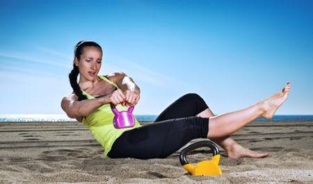 Full Body Kettlebell Workout - Kettlebell Twist workout