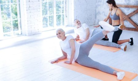 Upper Body Exercises For Seniors - Leg Raises exercise for seniors