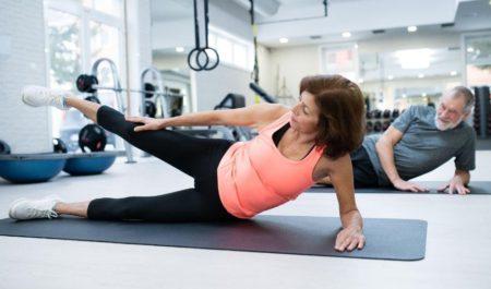 Upper Body Exercises For Seniors - Side Leg Raise