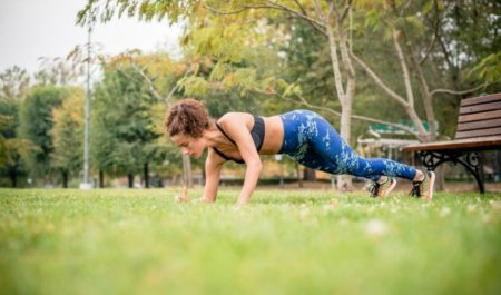 Bodyweight Back Exercises - Side To Side Push-Up