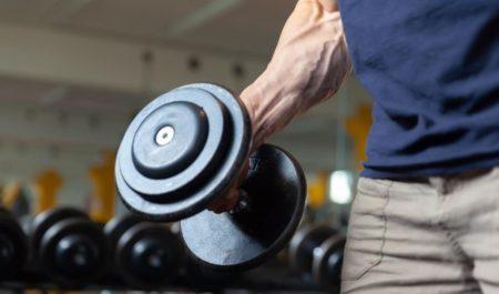 Deltoid Workout - Singe arm dumbbell lateral raise