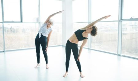 Ab Stretches - Standing Side Bends