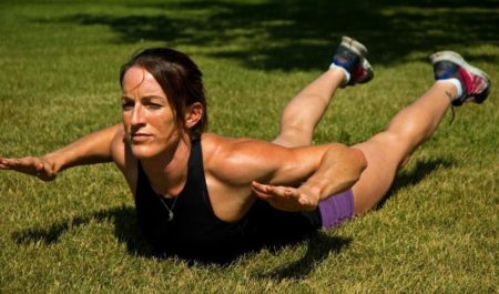 Shoulder Workouts For Women - Superman Y-Raise