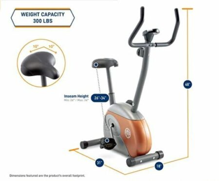 Upright Exercise Bike Marcy