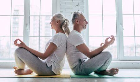 Geriatric Physical Therapy Exercises - Yoga