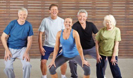 Fitness Women Over 60 - Zumba workout