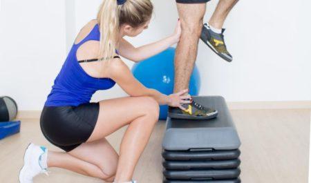 Side Step Ups - box step ups workout
