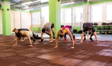 Bodyweight Back Exercises - burpees workout