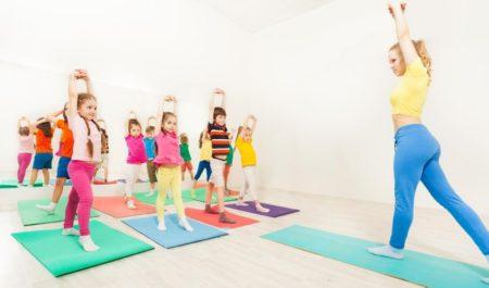 Gymnastics For Kids - gymnastic training