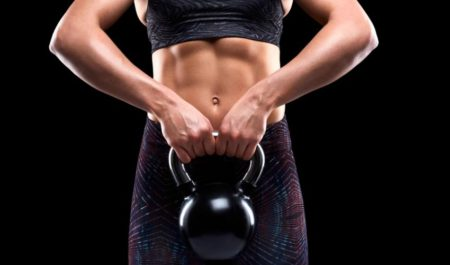 Full Body Kettlebell Workout - kettlebell abs workout