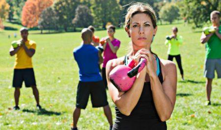 Full Body Kettlebell Workout - kettlebell workout