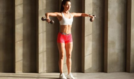 Shoulder Workouts For Women - lateral raise