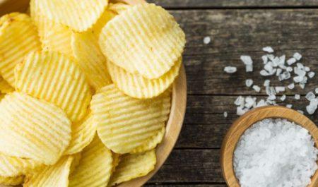 TRX Row - salty fatty foods