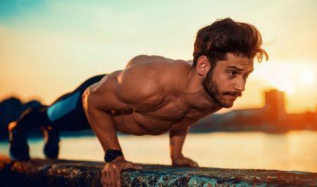 Bodyweight Back Exercises - scapula push-ups
