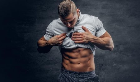 Ab Stretches - six pack