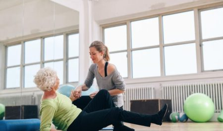 Posture Exercises For Seniors - smart posture trainer