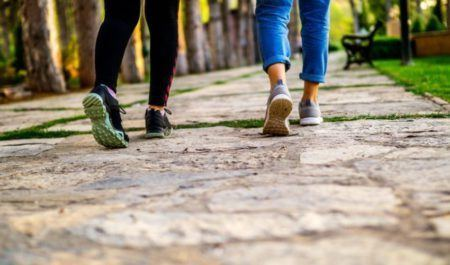 Cardio For Bad Knees - take a walk