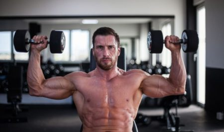 Seated Dumbbell Press - Arnold Press